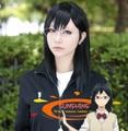 FREE SHIPPING Animation Haikyuu !! Kiyoko Shimizu short hair black hair high quality free shipping + caps can blanching