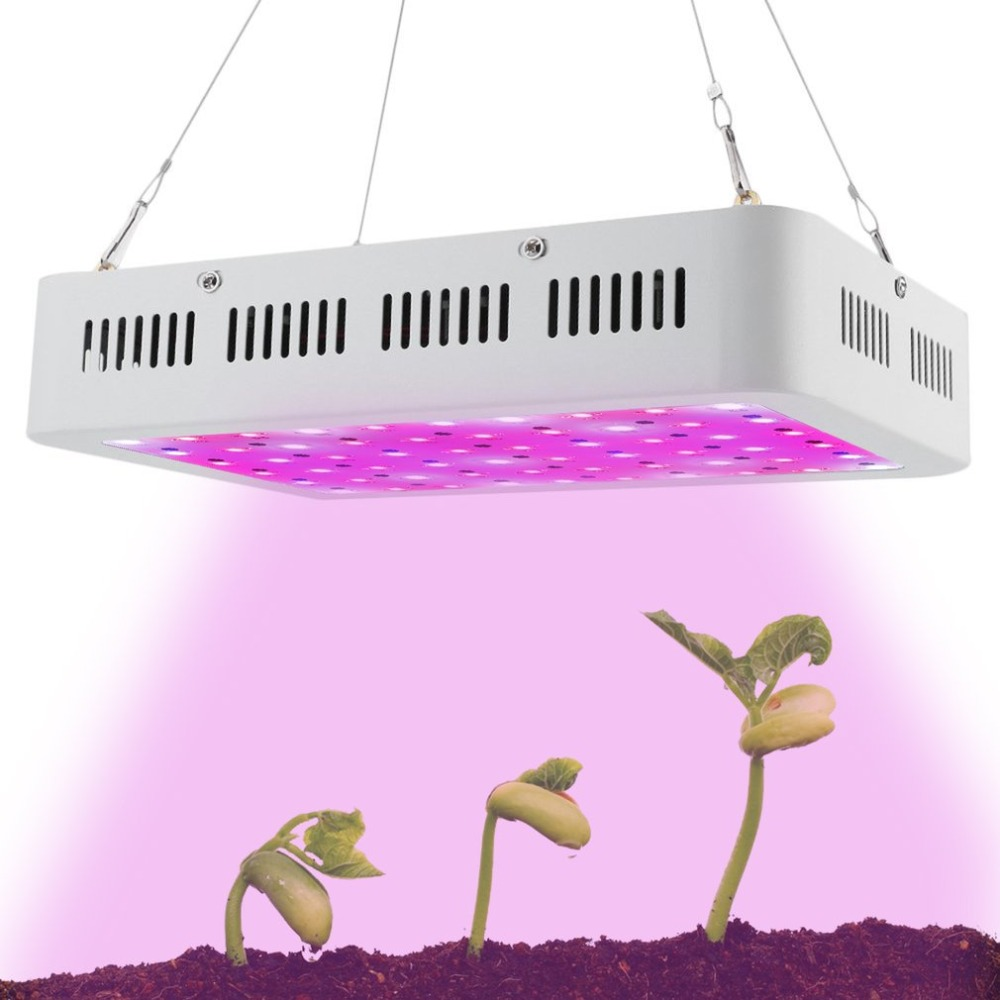 Portable Plant Growing Light 600W 60 LED Full Spectrum Growth Lamp Greenhouse Hydroponics Light Plant Lamp EU Plug AC 85-265V best full spectrum 300w led cultivate light for hydroponics greenhouse grow tent led lamp suitable for all plant growth 85v 265v