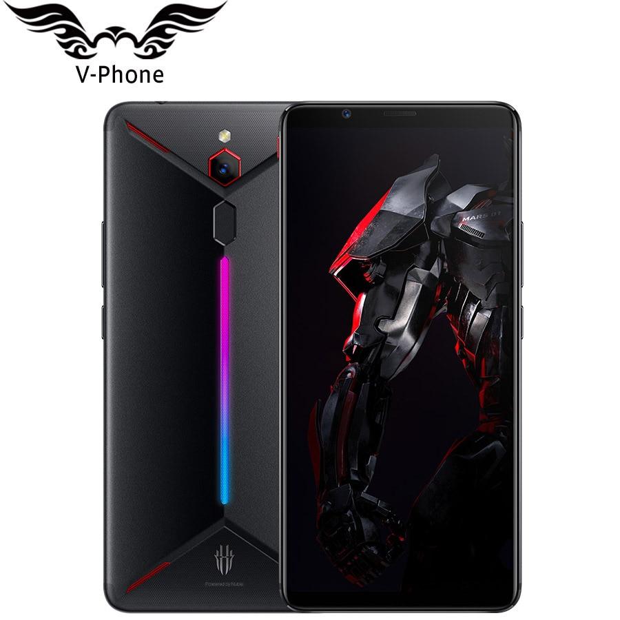 "Original ZTE Nubia Red Magic Mars Game Phone 6.0"" 8GB RAM 128GB ROM Snapdragon 845 Octa Core Fingerprint Android9.0 Mobile Phone"