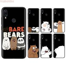We Bare Bears Soft Case for Redmi Note 7 5 6 Pro 7A K20 6A Plus 4X S2 Y3 GO Silicone