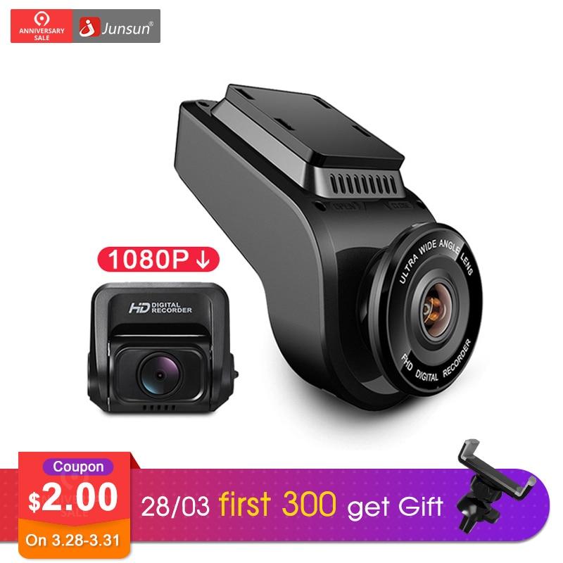 Junsun 4K Ultra HD GPS Car Dash Cam 2160P 60fps ADAS Dvr with 1080P Sony Sensor