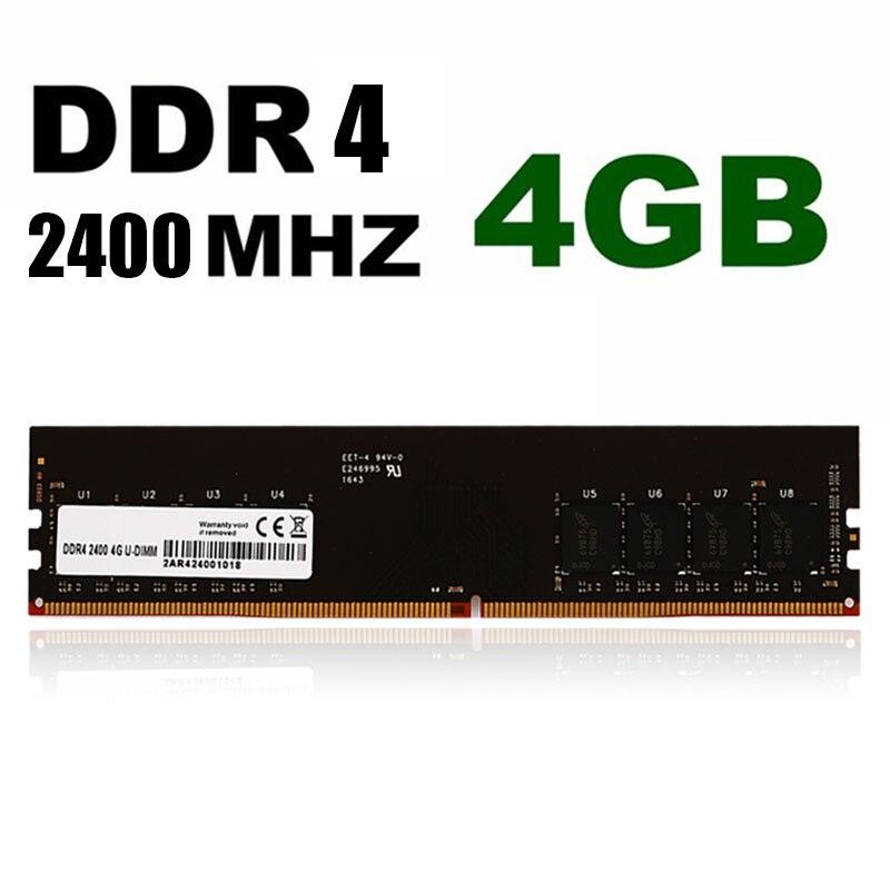 Mémoire d'ordinateur De Bureau 2400 Mhz RAM 4 GB DDR4 Magasin Haute Vitesse PC Mémoire De Stockage Jeu pour Bureau