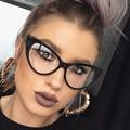 Olho de gato Claro Óculos Claros Óculos de Armação de Miopia Mulheres Sexy Cateye Vidros Ópticos Armação de óculos de Lente Clara óculos de sol Luneta Femme