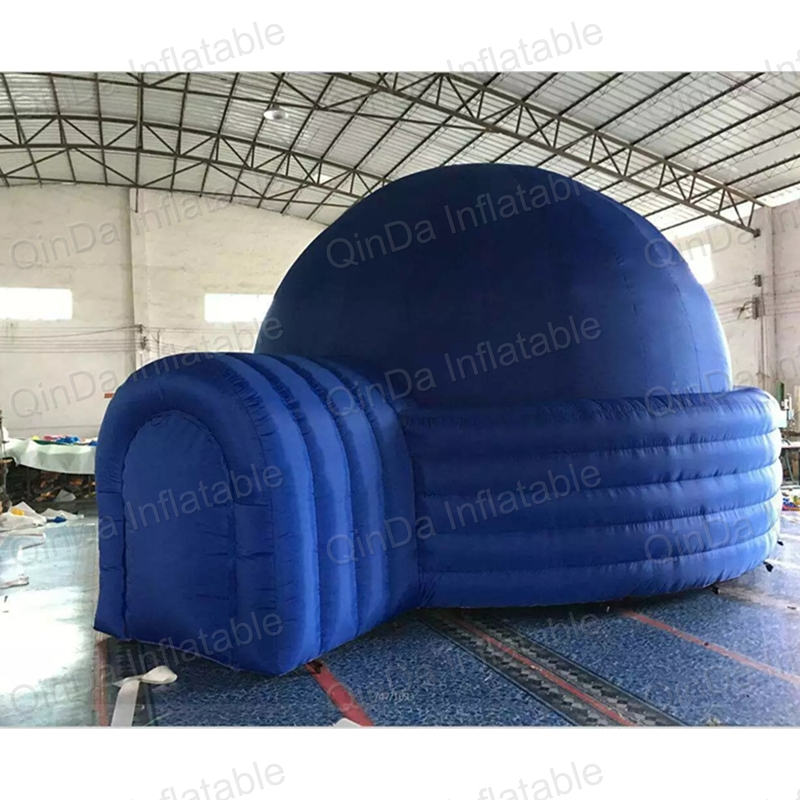 купить Inflatable air dome projection tent, inflatable air planetarium dome tent for sale