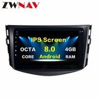 8 inch The Newest Android8.0 7.1 Car DVD Player GPS Navi For Toyota RAV4 2009 2010 2011 2012 Radio Multimedia Satnav Headunit