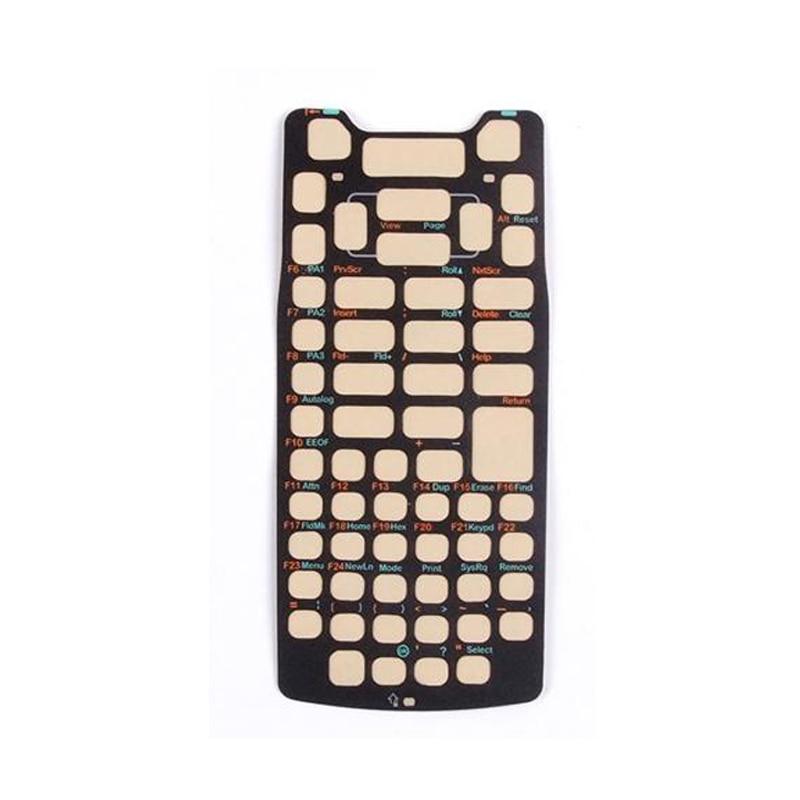 5 pcs lote barcode scanner teclado overlay 59 teclas para intermec ck71