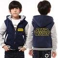 Детская Балахон Зима Star Wars Vader Сгущает Руно Darrh Пальто Световой Унисекс США ЕС Размер