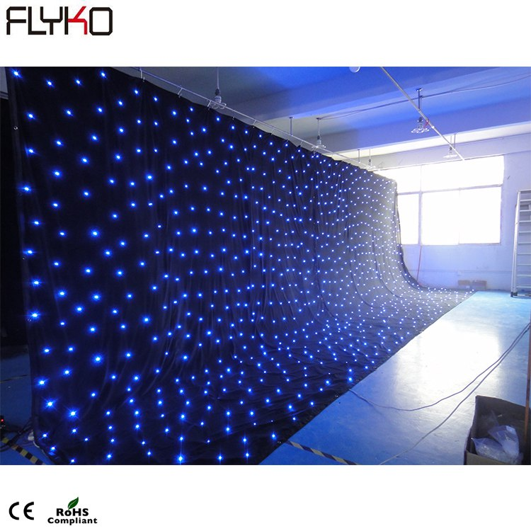 18dot/m2 led star backdrop 15feet*33feet Ledstage background18dot/m2 led star backdrop 15feet*33feet Ledstage background