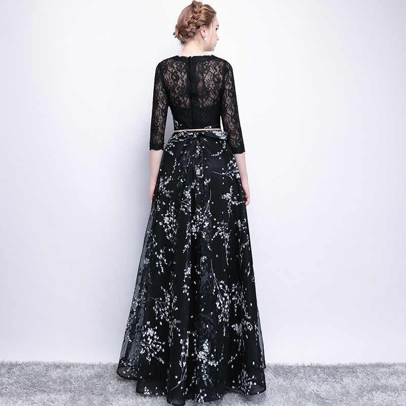 Ameision סקסי ארוך שרוול slim שמלת ערב המפלגה שמלת 201 p נשים אלגנטי אירוע מיוחד פורמליות שמלות אופנה שמלות