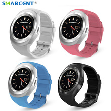 SMARCENT Y1 wearable Bluetooth Smart Watch Support SIM TF Card With Whatsapp Facebook fitness Smartwatch For Android/IOS phone