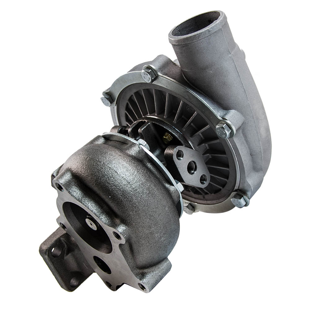 T3/T4 T04E STAGEIII TURBO +OIL FEED+OIL RETURN FOR CIVIC CRX 88 D16 D16 Y7 D16Y FOR FORD DODGE TURBOCHARGER TURBO 1998 1999 - 3