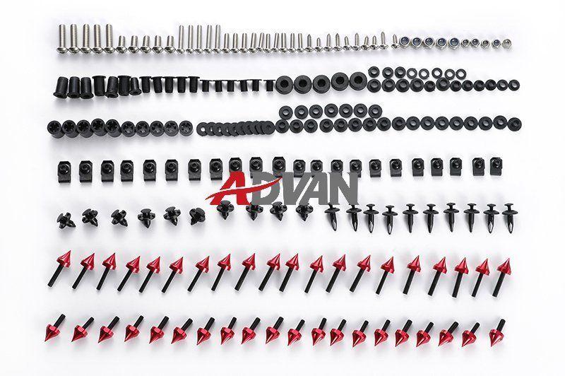 Дополнительно:красный,зеленый,оранжевый,синий,черный,серебро,хром)Спайк обтекатель комплект болтов крепеж винты набор подходит для Ducati 748/916/996/998