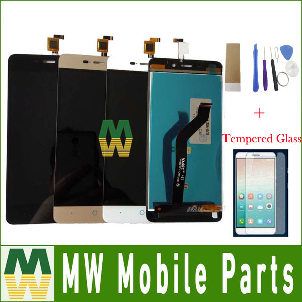 1PC/Lot For ZTE Blade X3 D2 T620 A452 LCD Display LCD Sreen +Touch Screen Touch Digitizer Assembly 3 Color With Free Kit