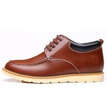 Мужская повседневная обувь Топ мужские увеличивающие рост обувь натуральная кожа обувь для мужчин Chaussure Femme De Homme HS7702