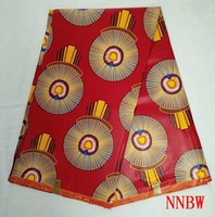 African Batik Bazin wax african clothing 100% cotton holland printed fabric for Garments