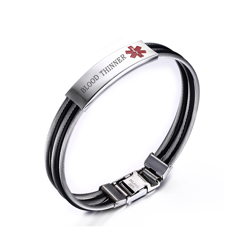Blood Thinner Medical Alert Id Bracelet