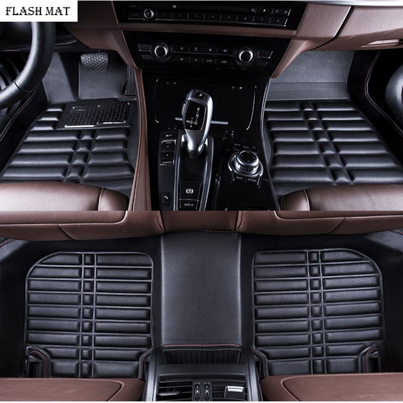 custom made car floor mats for skoda kodiaq skoda superb 2 3 2013-2018 rapid karoq Octavia Auto accessories car mats
