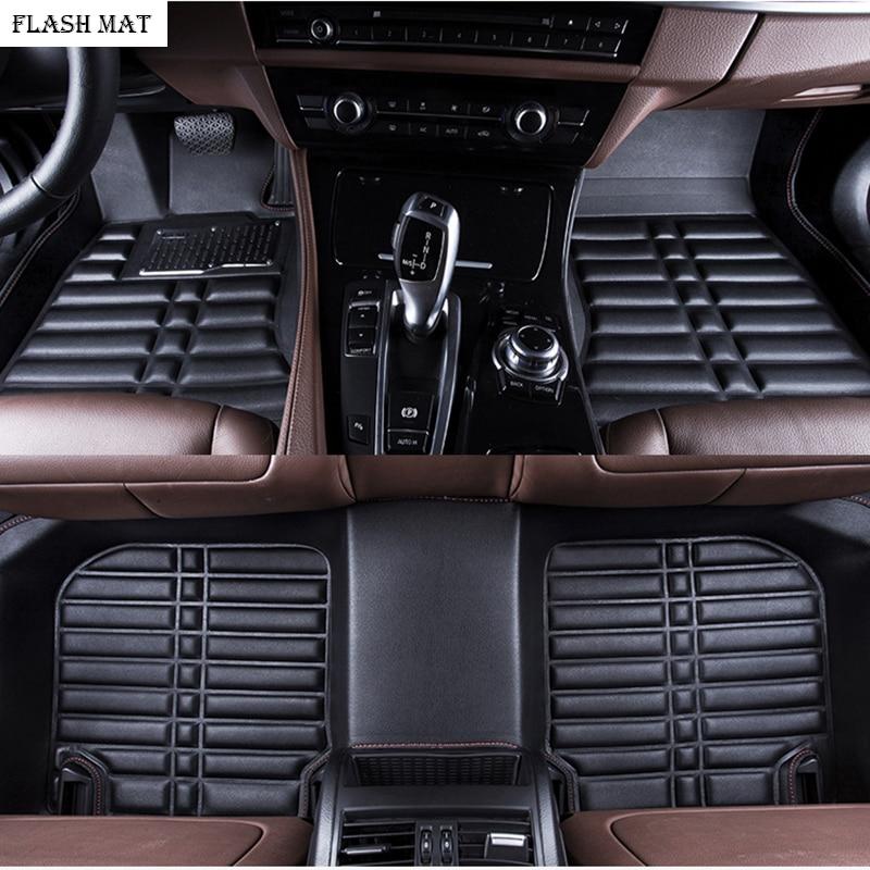 custom made car floor mats for skoda kodiaq skoda superb 2 3 2013-2018 rapid karoq Octavia Auto accessories car mats набор автомобильный auto premium skoda 67368