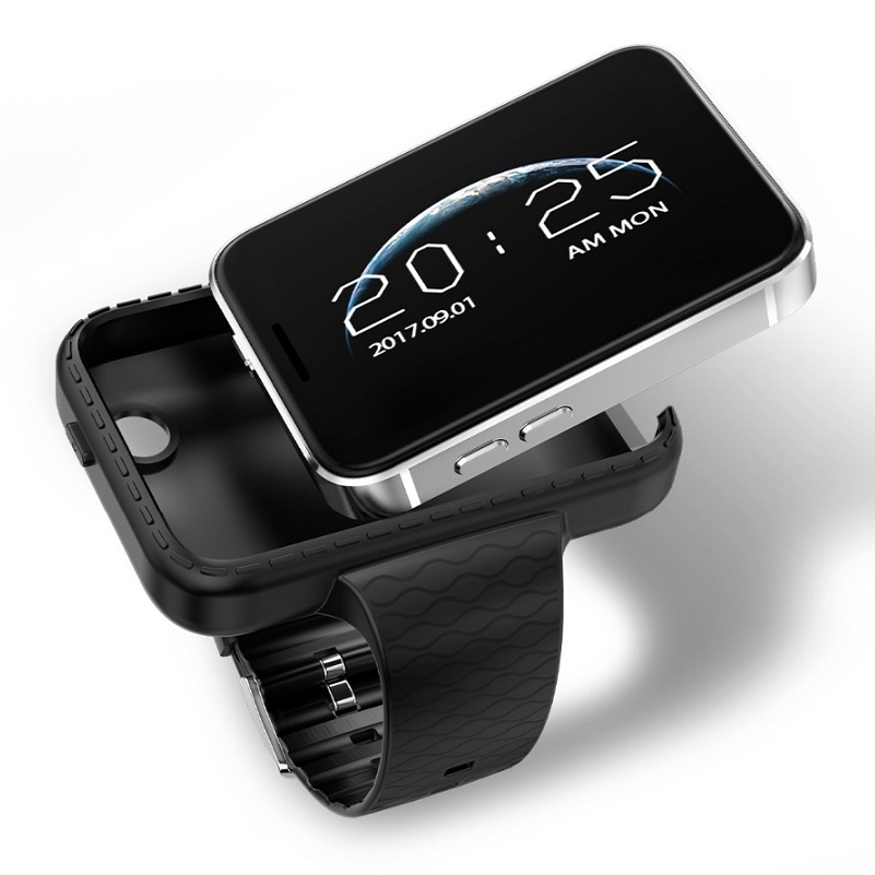 I5S Smart Mobile Watch MP3 MP4 Player Sleep Monitor Pedometer 720P HD Camera SIM TF Card