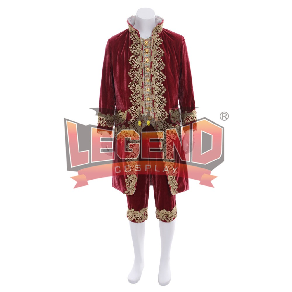 Victorian Elegant Gothic Aristocrat 18th Century vintage men's fancy outfit custom made cosplay costume