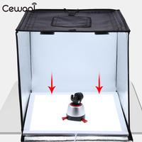 White PULUZ Photo LED Light Panel Studio Jewelry Shooting Artwork Shooting Shadowless Adjustable Glassware Softbox Electronics