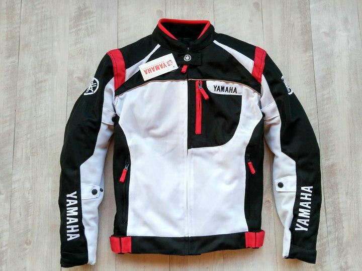 Veste d'équitation en maille Textile coupe-vent pour Motocross pour vestes de course YAMAHA avec Protection