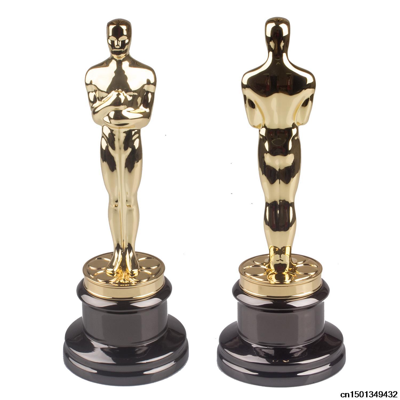 Cm Premios Oscar Premios De La Academia Oscar Trofeo Replica De Oro Estatua De Zinc En Souvenirs Deportivos De Deportes Y Ocio En Aliexpress Com