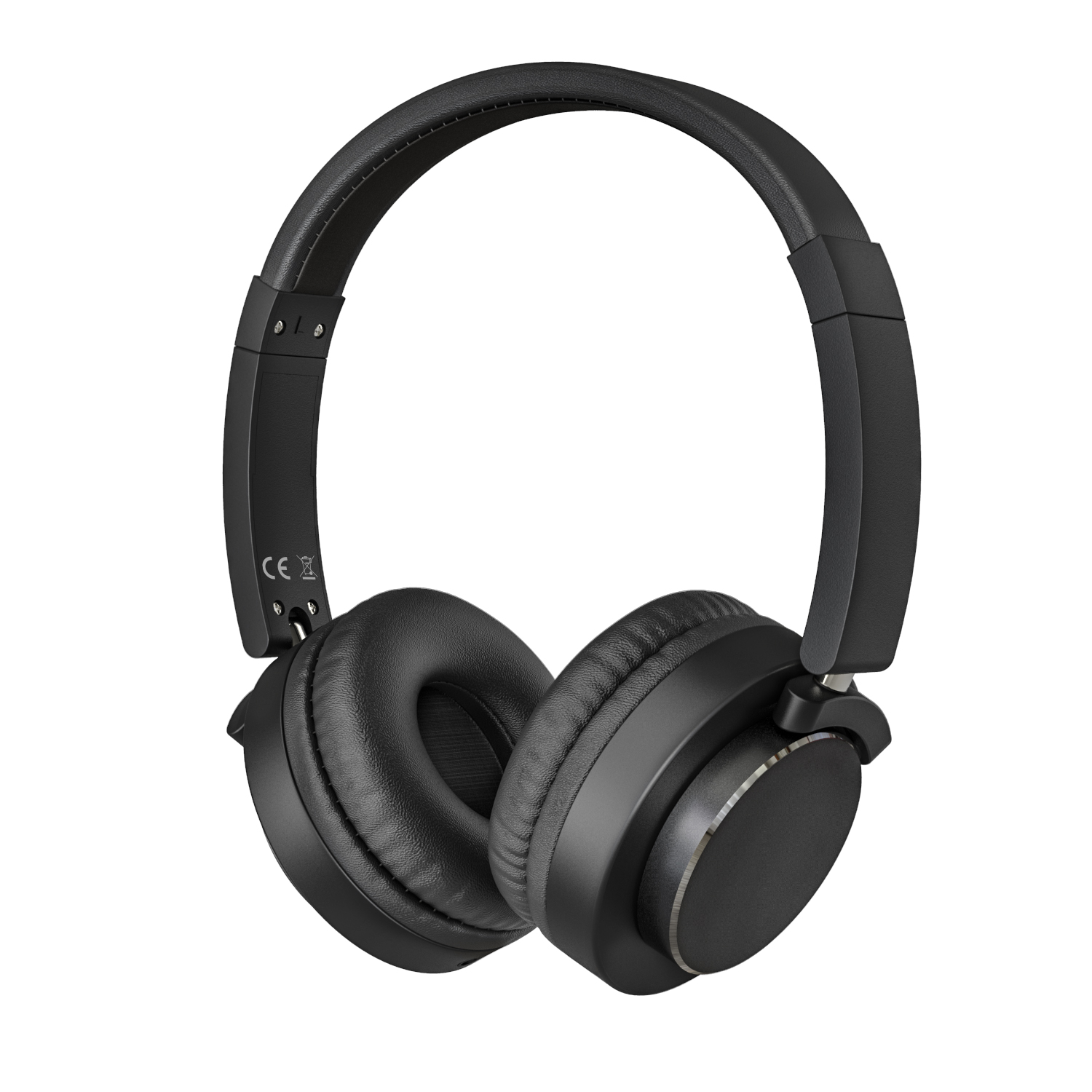 Hi-Fi Stereo Headphones On-Ear, MoKo Wired Earphones with Music Shared Port and Boom Microphone Lightweight Foldable Headset