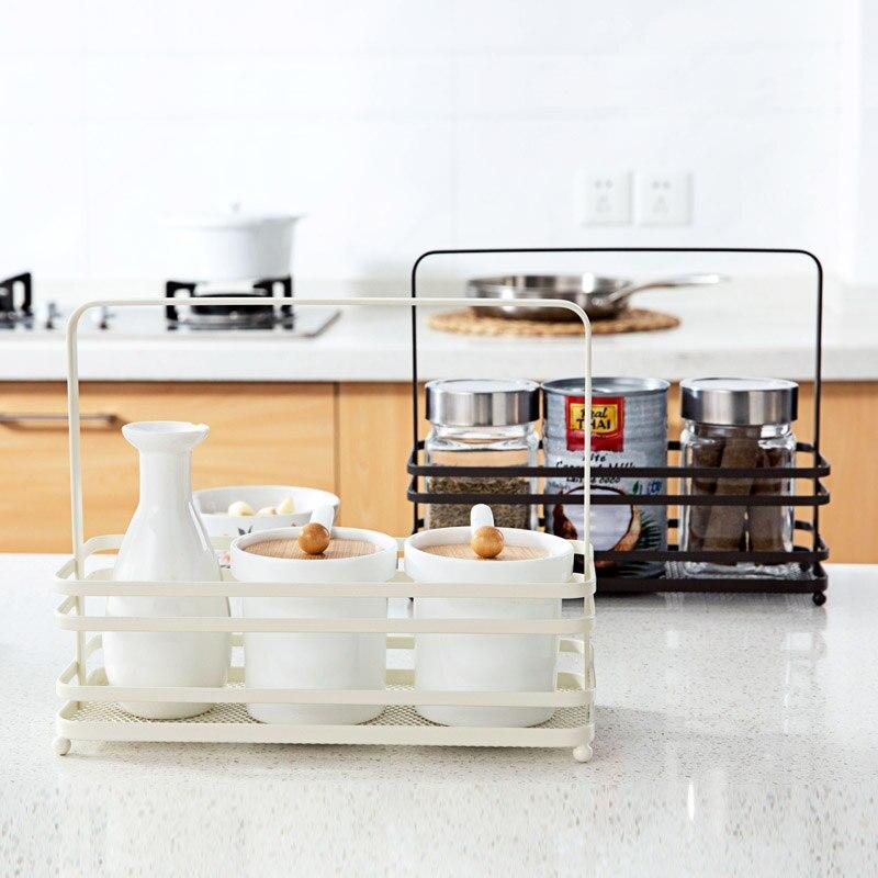 US $20.63 29% OFF|Portable Eisen Würze Flasche Regal Küche Gewürzkasten  Würze Regal-in Halter & Gestelle aus Heim und Garten bei Aliexpress.com |  ...