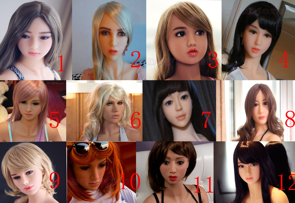 Oral Girls Sex Toy For Men Japanese Doll Head For Adult,sex Toys Pleasant To The Palate Candid High Quality Silicone Real Sex Doll Head For Love Dolls