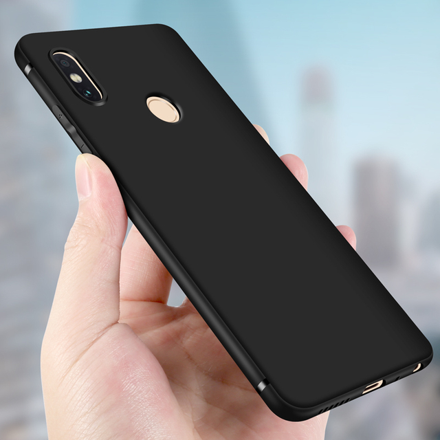 best loved c9b7c 5a780 US $3.14 37% OFF|Xiaomi Redmi Note 6 Pro Case Luxury Slim Frosted Soft  Silicone Tpu Case for Xiaomi Redmi Note 5 Pro Note5 Phone Cover capa-in  Fitted ...
