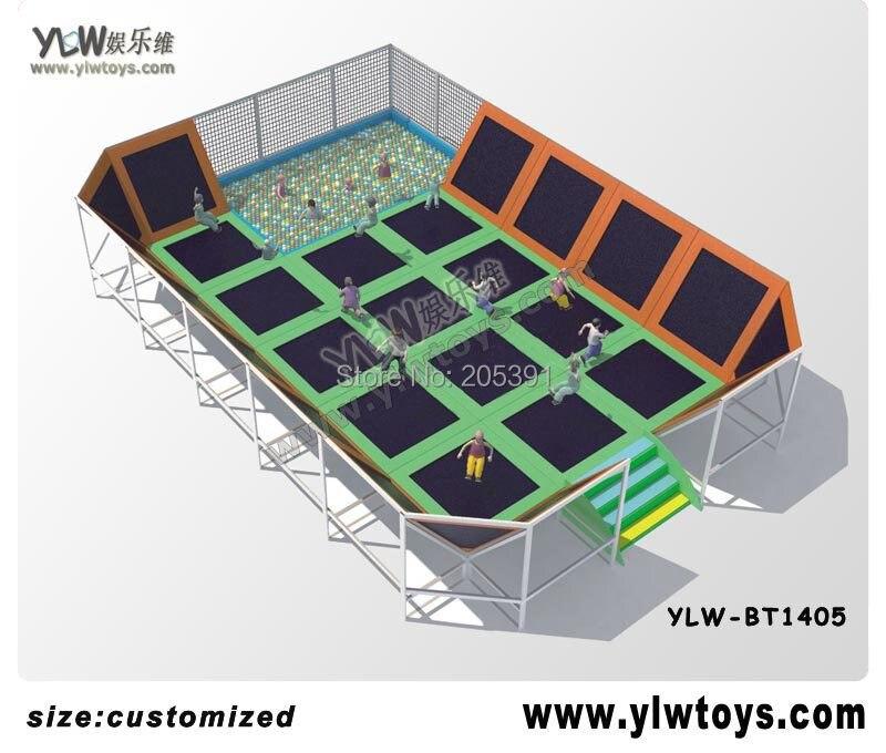 Aliexpress.com : Buy Indoor Trampoline Park With Sponge
