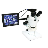 LCD 8 inch HDMI VGA BNC output IPS display monitor for industrial Trinocular /Binocular stereo microscope phone repair