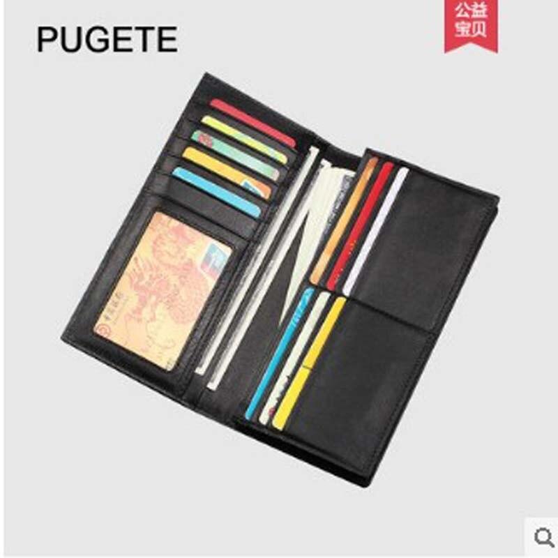 pugete Thai crocodile leather wallet for men long youth handmade wallet for men genuine leather wallet for men - 4