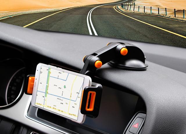 Dobrável ajustável de sucção rotativo gps suporte suporte de montagem do carro do telefone móvel para asus zenfone 3 max zc520tl