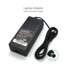 New Genuine Original 120W 19.5V 6.2A AC Adapter for Sony ACDP-120N01 ACDP-120E01 ACDP-120E02 149273311 Laptop Charger genuine acdp 160d01 149318014 1 493 180 15 19 5v 8 21a laptop ac adapter for sony tv kd 49xd8305 kd 55xd8505 xbr 49x800d charger