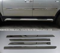 JIOYNG ABS cromo lado puerta  carrocería protector  moldura  cubierta TRIM para VOLVO XC90 2008  2009  2010  2011  2012  2013  2014|Estilo cromado| |  -
