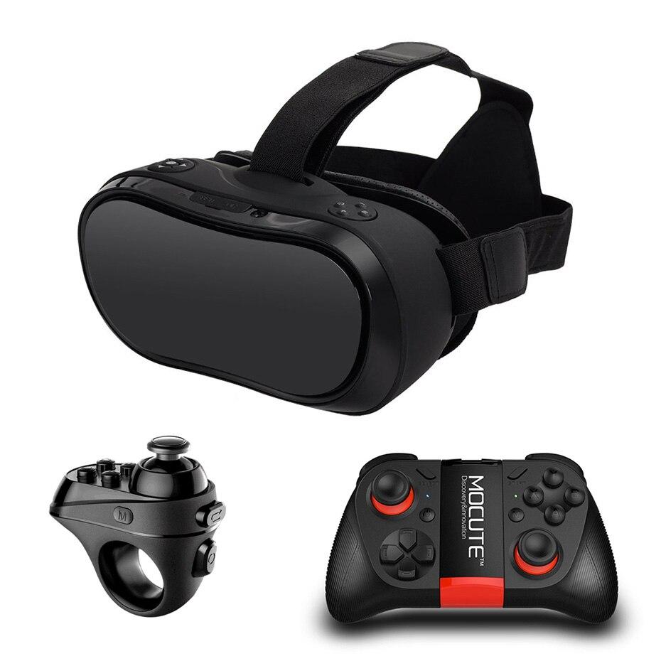 Vr коробка 3D Очки Виртуальная реальность для ПК PS4 Xbox один хост 2560*1440 Виртуальная реальность очки все в одном VR bluetooth Пульты ДУ для игровых при...
