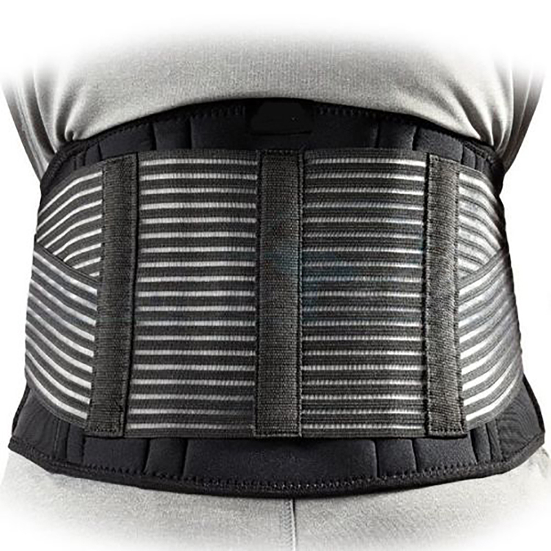 Mens Sports Waistband Double Adjust Lumbar / Breathable Brace Lower Back Support Safety Belt Hot Sale
