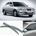 4pcs Blade Side Windows Deflectors Door Sun Visor Shield For Hyundai Elantra 2004-2013