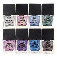 BORN PRETTY 10ml Holographic Nail Polish High Ingredients Super Shine Holo Nail Art Vanish Polish Shine