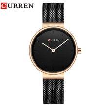 CURREN 9016 Women Watch New Quartz Top Brand Luxury Fashion Wristwatches Ladies Gift  relogio feminino