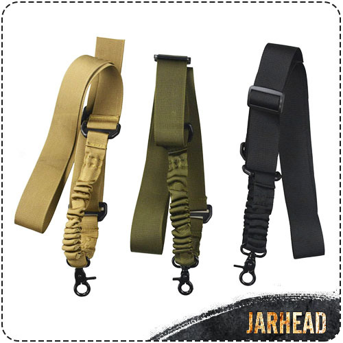 Outdoor Tactical Gear Military One Single Point Gun Rope Multi-purpose Adjustable Rifle Gun Sling/Strap Hunting Accessories