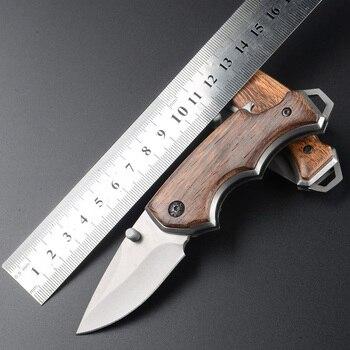 Facas de caça ao ar livre faca sobrevivência bolso ferramentas manuais lâmina fixa lâmina dobrável jackknife auto-defesa sabre de aço inoxidável