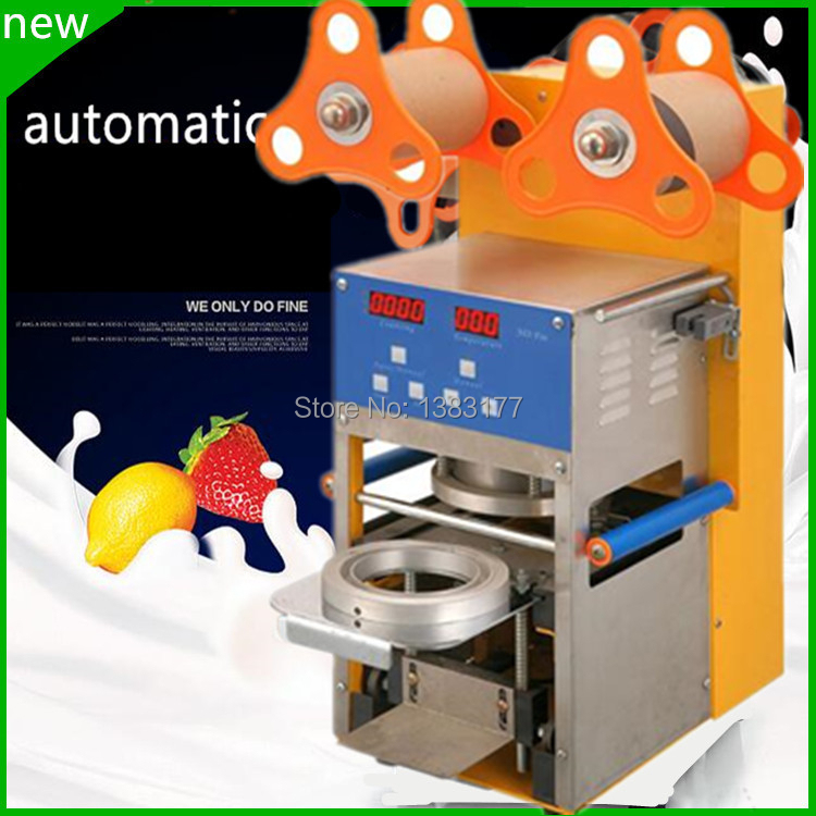 JKL 2017 hot sale New design professional high quality automatic cup sealing machine industrial cup sealer for small business