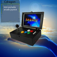Портативный мини-ручной домой раскладушка Аркада с 1388 ретро ностальгические игровой консоли лунный коробка 6 S