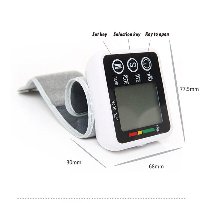 New font b Health b font font b Care b font Germany Chip Automatic Wrist Digital