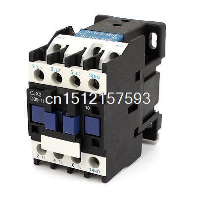 LC1-D0910 110-120V/130V 50/60Hz Coil 25A Three Pole 1NO/1NC AC Contactor
