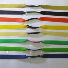 Karet gelang lateks tabung tarik tali lebih dekat-musim semi elastis karet band ketegangan perangkat