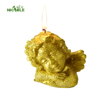 Three-dimensional angle soap candle chocolate mould for handmade